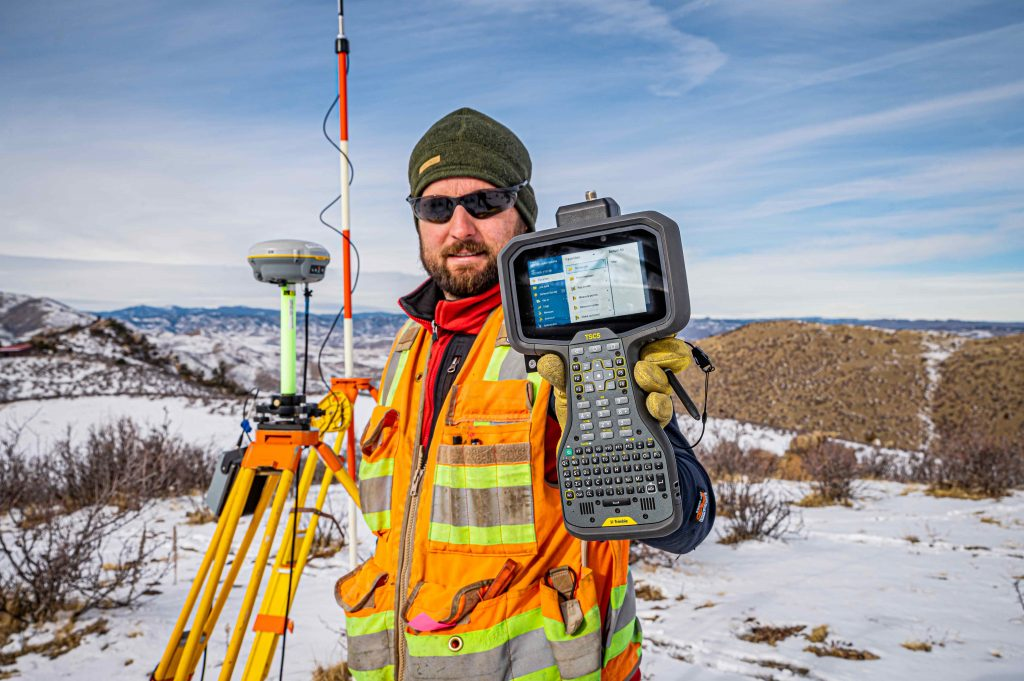 Trimble TSC5 Controller with 5-inch Screen