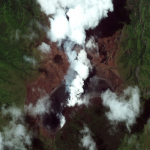 Satellite Imagery via @Maxar : St. Vincent and Ongoing Volcanic Eruptions