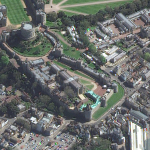 Satellite Imagery @Maxar : Windsor Castle and St George Chapel, April 17th