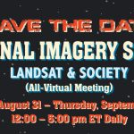 National Imagery Summit SAVE THE DATE August 31, 2021 - September 2, 2021