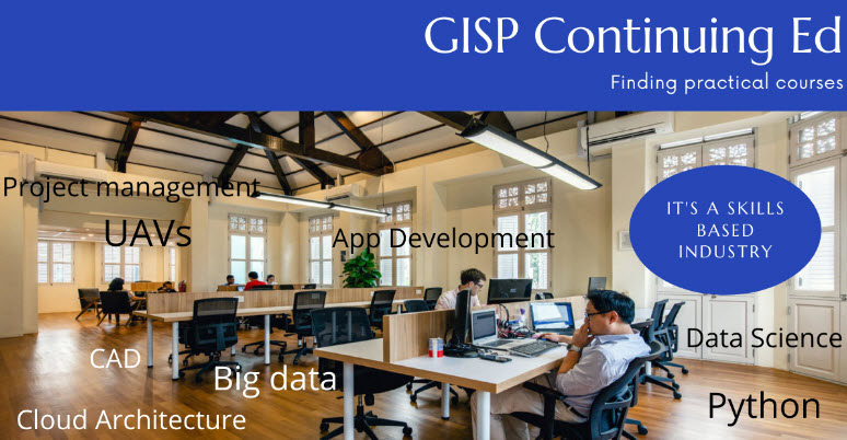 Maximize your continuing ed requirement for GISP