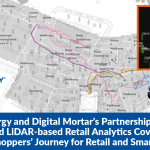 Quanergy and Digital Mortar's Partnership Brings Advanced LiDAR-based Retail Analytics Covering the Entire Shoppers' Journey for Retail and Smart Spaces