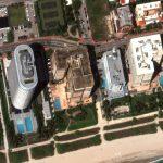 Maxar Satellite Imagery: Miami Building Collapse