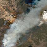 Maxar Satellite Imagery: Caldor Fire Approaching Lake Tahoe