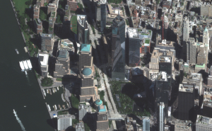 Maxar imagery, 9/11