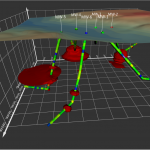 Golden Software Unveils 3D Drillhole Visualization in Surfer® Surface Mapping Package